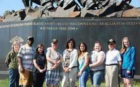 Averett students get lesson in war from veterans